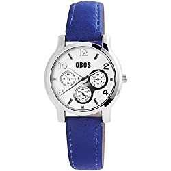 QBOS Women's Quartz Watch with Black Dial Analogue Display Quartz Mixed Media RP3092300001