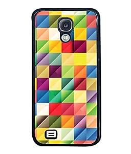 PrintVisa Designer Back Case Cover for Samsung Galaxy S4 I9500 :: Samsung I9500 Galaxy S4 :: Samsung I9505 Galaxy S4 :: Samsung Galaxy S4 Value Edition I9515 I9505G (Texture Illustration Black Backcase Pouch )