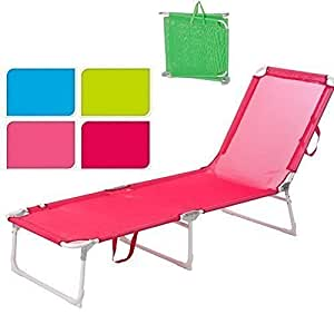 lit de camp pliable camping fauteuil pr sident plage jardin piscine vert jardin. Black Bedroom Furniture Sets. Home Design Ideas
