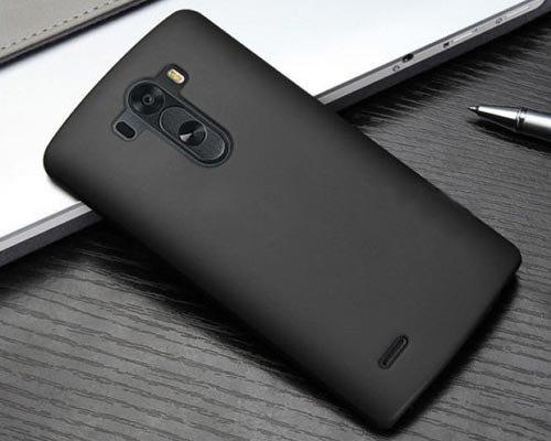 Dashmesh Shopping Rubberised Matte Hard Case Back Cover For LG G3 – Black