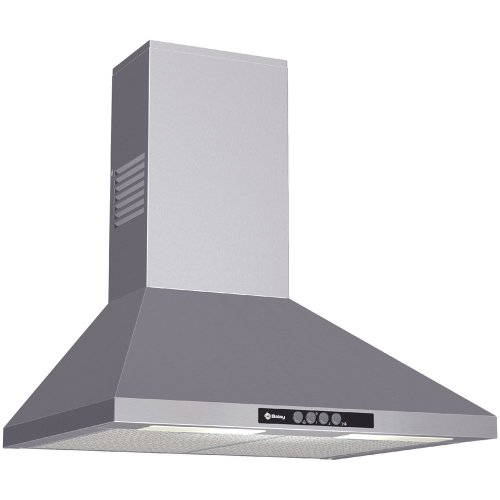 Balay 3BC762M Campana extractora de Pared, 155 W, 3 Velocidades, Acero Inoxidable