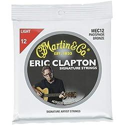 Set de cuerdas - Martin MEC12 - Guitarra Acústica
