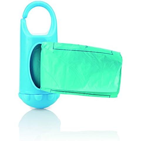 Nuby ID7044 - Dispensador de bolsas para desechar pañales (24 bolsitas perfumadas)