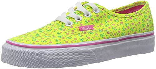 Vans U AUTHENTIC (DITSY FLORAL)  Sneakers Basse, Unisex Adulto Giallo (Ditsy Floral)