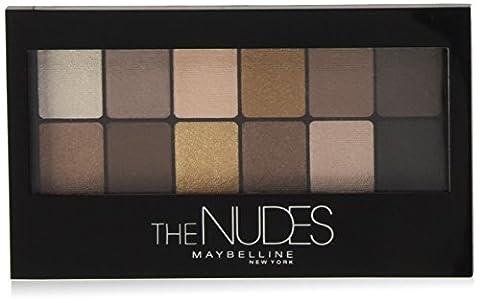 Gemey Maybelline New York Palettes Fard à Paupières The Nudes