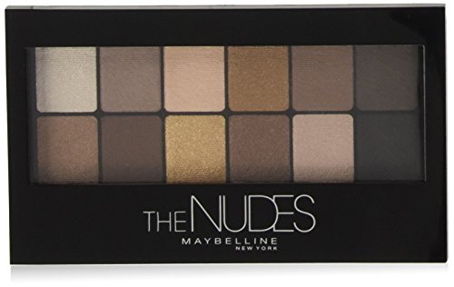 Maybelline New York The Nudes Palette Palette Ombretti, 12 Colori
