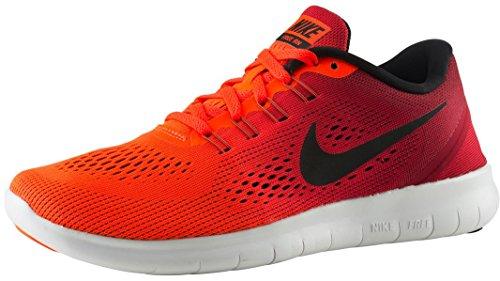 Nike - Wmns Free Rn Chaussures De Course Femme Rouge / Noir