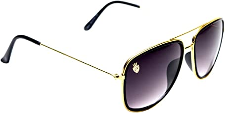 La Victorie Aviator Premium Double Frame Unisex Black Sunglasses