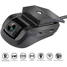 Smart auto Dash Cam GPS–Micodus Edgecam Pro 3G GPS telecamera Full HD 1080p gradi grandangolare DVR, WDR, Live Streaming video, veicolo Tracker nessun abbonamento mensile