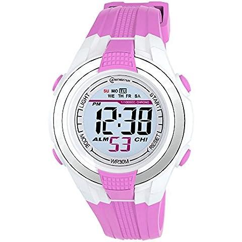 ragazze dei ragazzi bene pu wristband orologio da polso digitale sport, viola