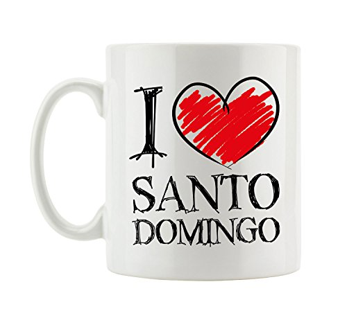 I love Santo Domingo Fun Tasse