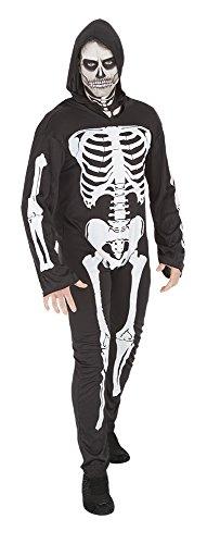 Rubie's-déguisement officiel - Rubie's- Déguisement Squelette-adulte- S8333