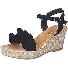 Zapatos de playa mujer, Covermason Calzado Sandalias de tacón de cuña de las mujeres de