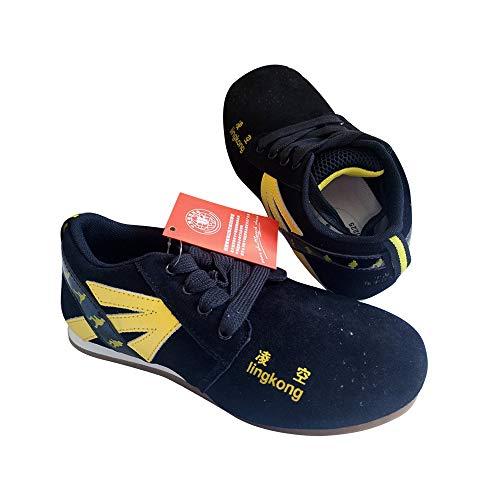 EDWRD Federballfeder Buntes Chinesisches Jianzi-Routinetraining Schuhe Für Wettkämpfe,Spiker-38
