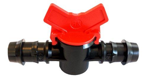 Absperrhahn für 20mm Schlauch, Ventil, Regler, 3/4 Zoll, regelbar, Sperrventil, Garten Wasser (Wasser-ventil-regler)