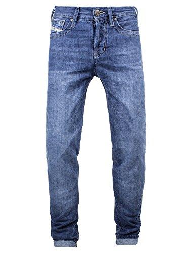 John Doe KAMIKAZE Jeans Regular Cut mit DuPont Kevlar® Faser - Blau Größe 36/34