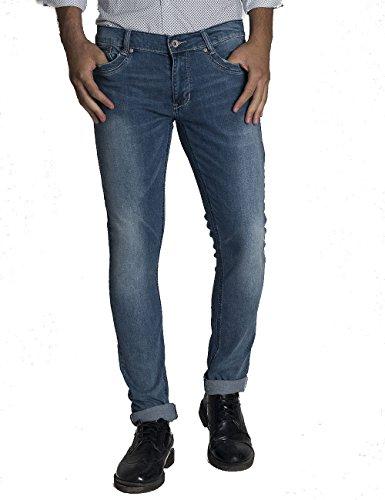 Pantolne jeans wampum wpm denim slim fit elastico modello 11567-1892 taglia 48