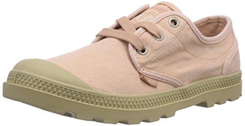 Palladium PAMPA OXFORD LP Damen Sneakers Pink (SALMON PINK/PUTTY 670)