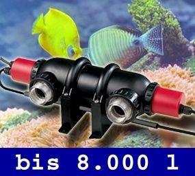 UVC-Entkeimer UV-Licht UVC-Brenner Wasserklärer Wasseraufbereitung Filter Aquarium UV2 -