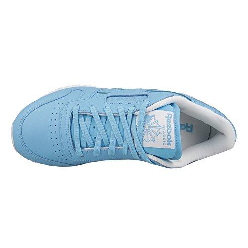 Reebok Cl Seasonal Ii, Baskets Basses Femme Blanc-bleu