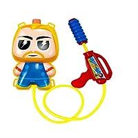 Quality Super Hero Kids Water Gun Back Pack Blaster Tank Toy Summer PlaySet Air Pressure