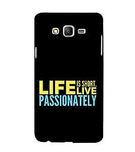 Fuson Designer Back Case Cover for Samsung Galaxy On5 Pro (2015) :: Samsung Galaxy On 5 Pro (2015) ( Love Quotes Inspiration Emotion Care Fun Funny )