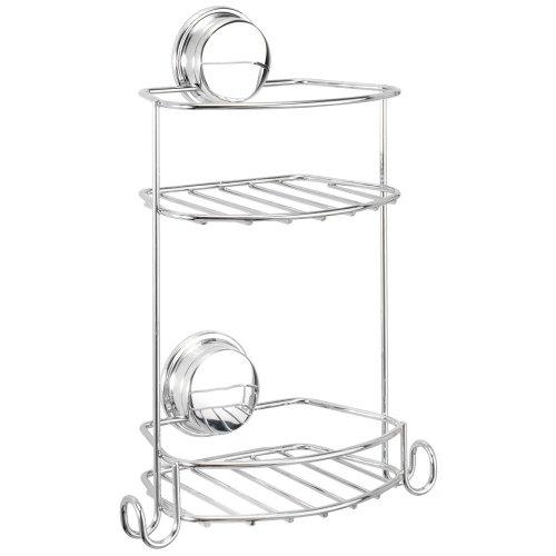 croydex-stick-n-lock-compact-2-tier-storage-basket
