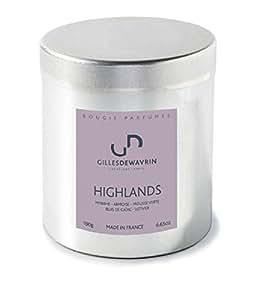 Gilles Dewavrin - Bougie parfumée artisanale Highlands