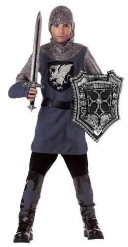 Tapferer Kostüm Ritter - Generique - Kostüm tapferer Ritter für Jungen 140 (8-10 Jahre)