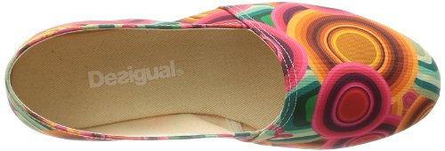 Desigual Shoes_esparto Plan, 3036 Rojo Clavel, 36, Coupe fermées femme Orange