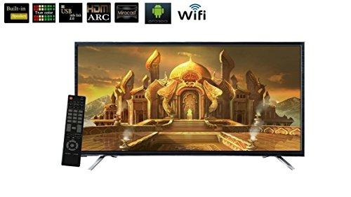 HiTech80 cm (32 inches) HTLE32Smart HD Ready LED TV (Black) WIFI, Miracast 1 GB Ram- 2 Years Warranty