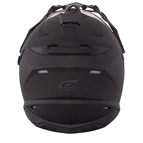 O'Neal Sierra Adventure Enduro Helm matt schwarz aerodynamischer Motorradhelm mit Sonnenblende, 0815-40, Größe Large (59 - 60 cm) - 2