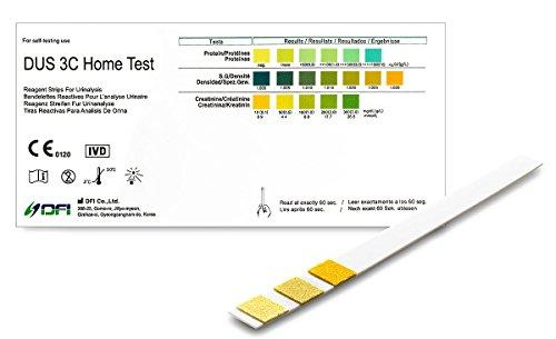 One+Step Nierentest 2 Stück zur Kontrolle von 3 Werten