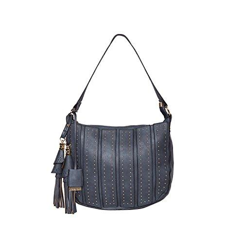 Diana Korr Blue P. U. Handbag (DK120HBLU)