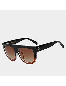 TIANLIANG04 Gafas de sol mujer de gafas de Moda Gafas de sol para mujeres lunetas Oculos UV400,W browm browm negro