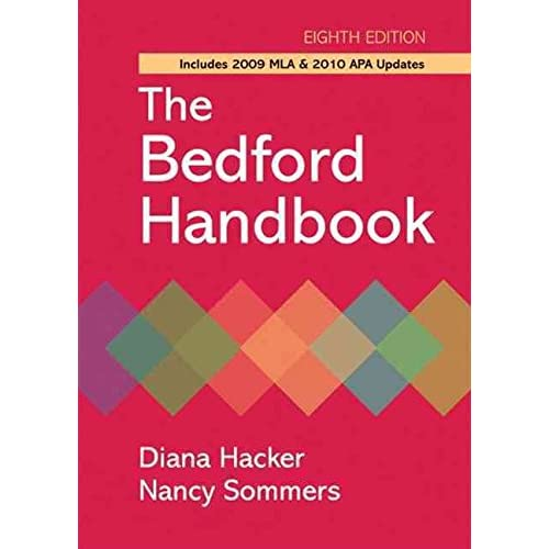 [(The Bedford Handbook with 2009 MLA and 2010 APA Updates)] [By (author) Diana Hacker ] published on (November, 2010)
