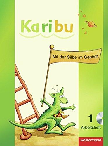 Karibu - Ausgabe 2009: Arbeitshefte Klasse 1 mit CD-ROM