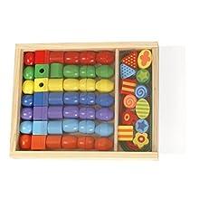 Perline di legno SMG scatola di legno 32010 all'ingrosso