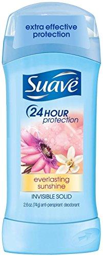 Suave Invisible Solid Antiperspirant Deodorant, Everlasting Sunshine - 2.6 oz by Suave