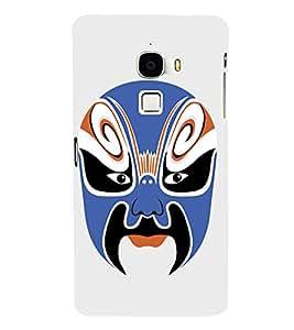 EPICCASE Beijing Opera Blue Mask Mobile Back Case Cover For LeTV Le Max (Designer Case)