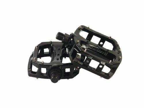 DiamondBack DBXP15 BMX Pedal Legierung mit austauschbaren Pins - Schwarz