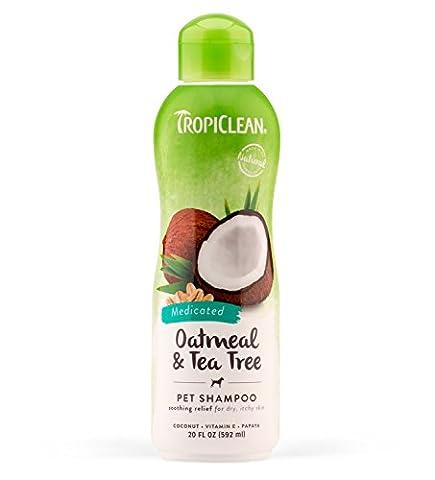 Tropiclean Shampooing traitant Flocons d'avoine 592 ml