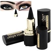 plantilla delineador de ojos en gel de maquillaje ojos Lápiz negro para pestañas y cejas by Sannysis (negro)