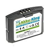 Akku-King Akku für Sennheiser RR 4200, Ri 410, Set 840 - ersetzt BA 300, 500898, HC-BA300, NCI-PLS100H - Li-Polymer 150mAh