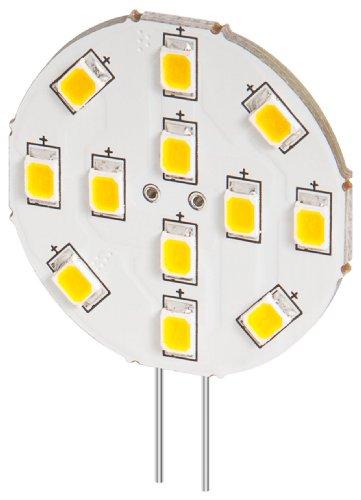 3er Set LED Einbaustrahler 2 W Sockel G4, ersetzt 20 W, 170 Lumen 170 Lumen-led