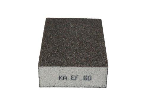 KA.EF. Schleifschwamm Korn 60 P150 Schleifmatte Schleifpad Vlies Schleif Scheiben