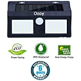 Yozo Motion Sensor Waterproof 40 LED Solar Light Solar Powered LED Garden Light White Light Outdoor Emergency Wall Lamp (Waterproof and Weather Resistance) of Ozoy