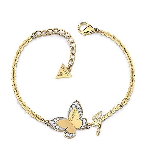 Pulsera Guess Love Butterfly acero inoxidable...