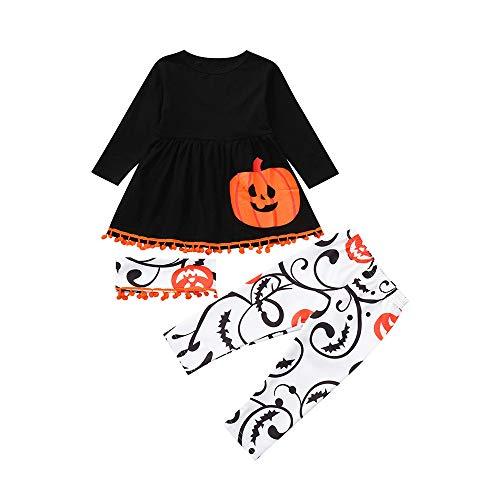 Kleinkind Säugling Baby Mädchen Jungen Halloween Kostüm Outfits Set ()