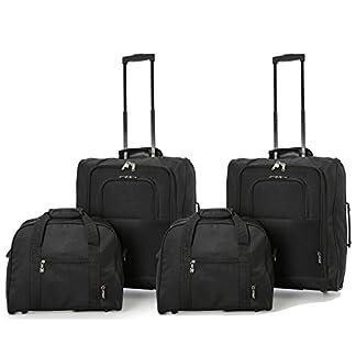 British Airways Tamaño Máximo 56x45x25 Trolley Equipaje de Mano y 2ª Bolsa de Mano 40x30x15 – ¡Lleva las dos!